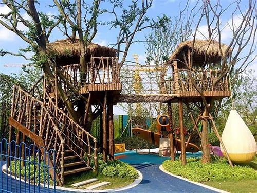 武汉儿童公园游乐设备设计成功案例:武汉林肯公园