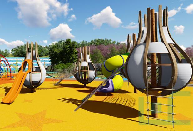 成都儿童组合游乐设施