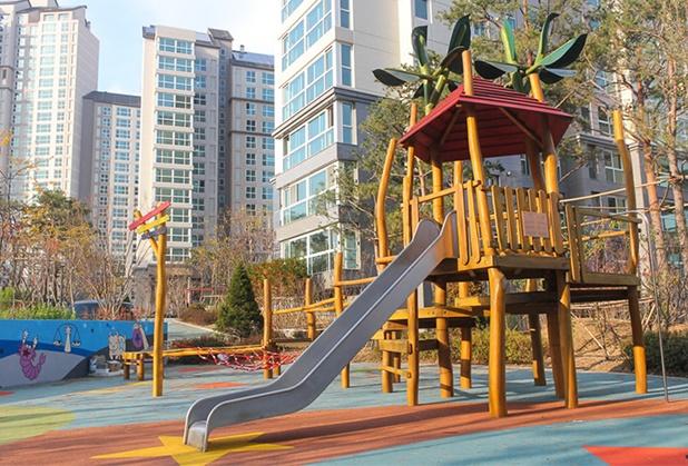 成都木质儿童游乐设施