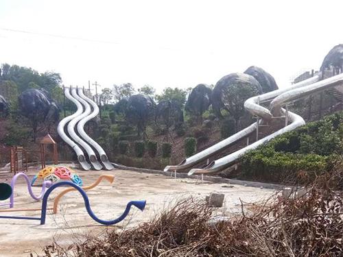 成都游乐场设备厂家施工案例:南充八尔湖景区项目