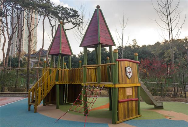 四川木质游乐园设施