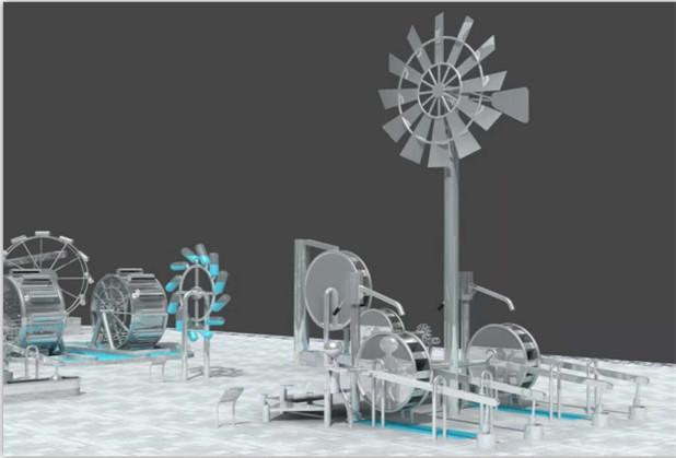 成都游乐园水上设施