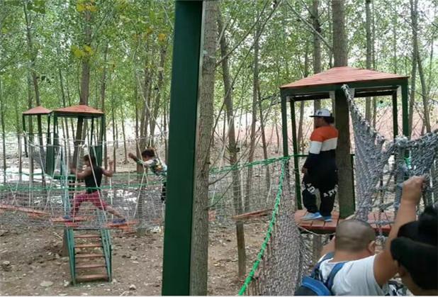 成都丛林穿越项目设施
