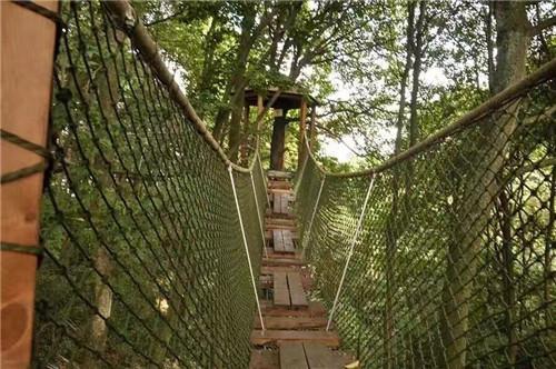 四川丛林穿越场地制作