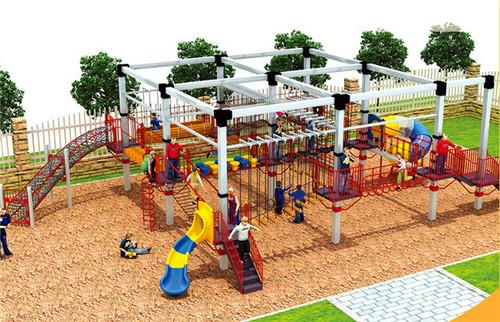 儿童体能拓展项目设施安装