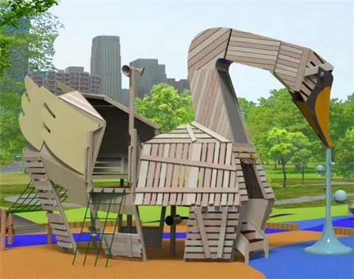 木质儿童游乐设施