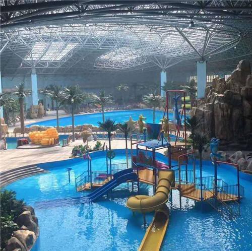 成都儿童主题乐园设备-水上乐园滑梯