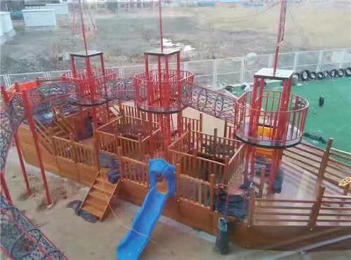 儿童木质游乐设施
