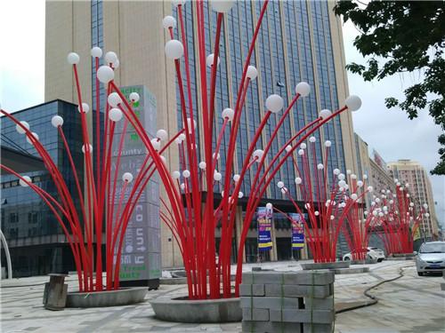 四川景观游乐设施案例:庆阳大槐树购物广场景观游乐设施