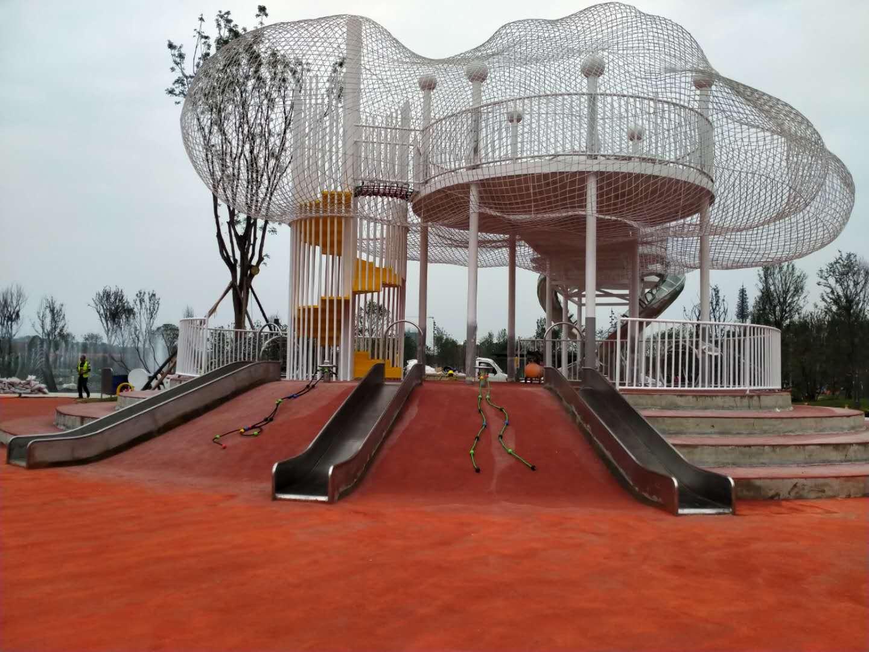 成都儿童游乐设施合作案例:简阳龙马湖儿童公园