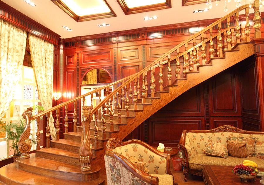 實木樓梯扶手是怎么安裝的?