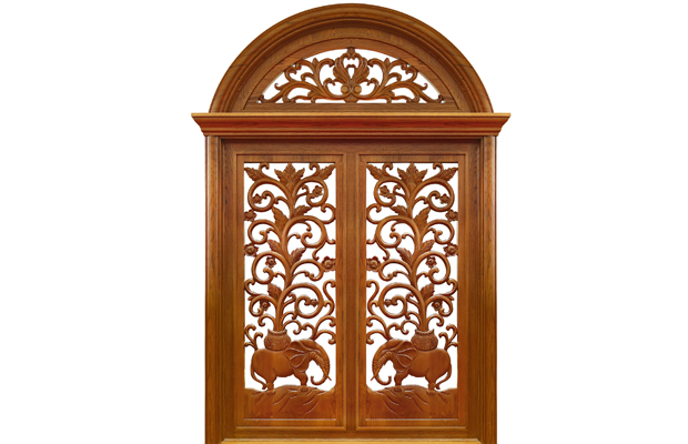成都木门窗户