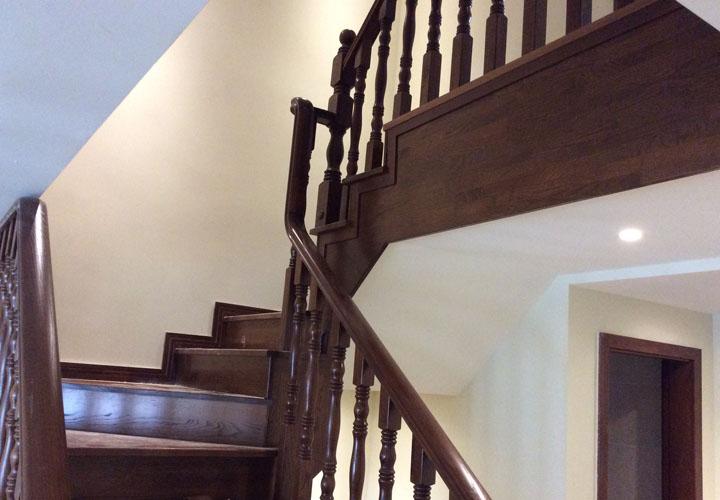 成都实木楼梯风水小常识和几种变化及组合