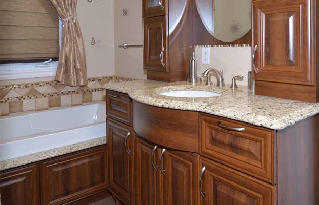 成都整装定制-浴室柜洗浴间