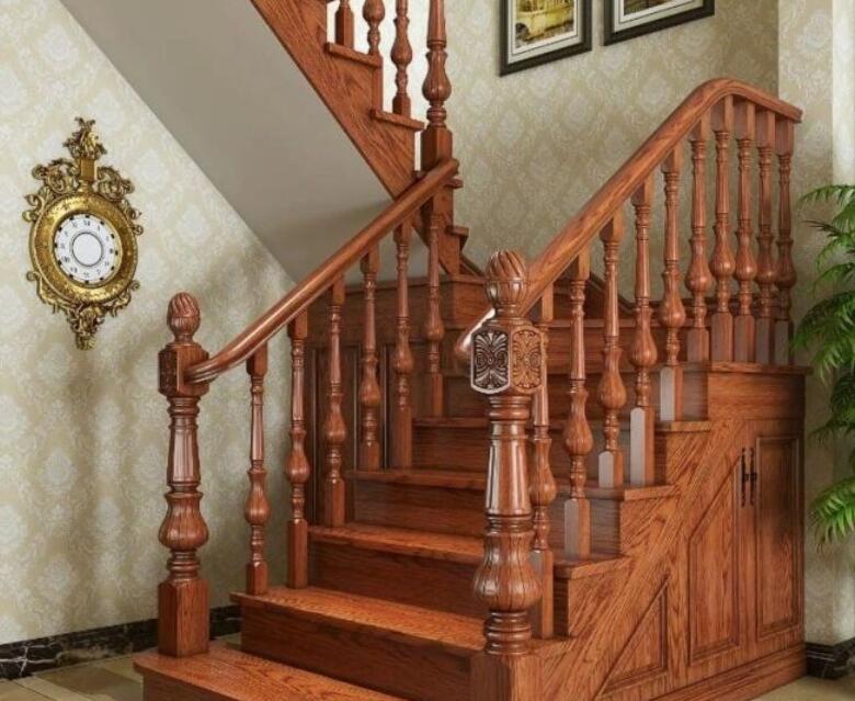 抗腐?耐用?成都实木楼梯为您讲解你选择它的六大理由。