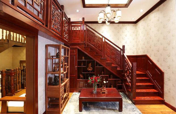 成都实木楼梯的扶手应该如何去挑选?