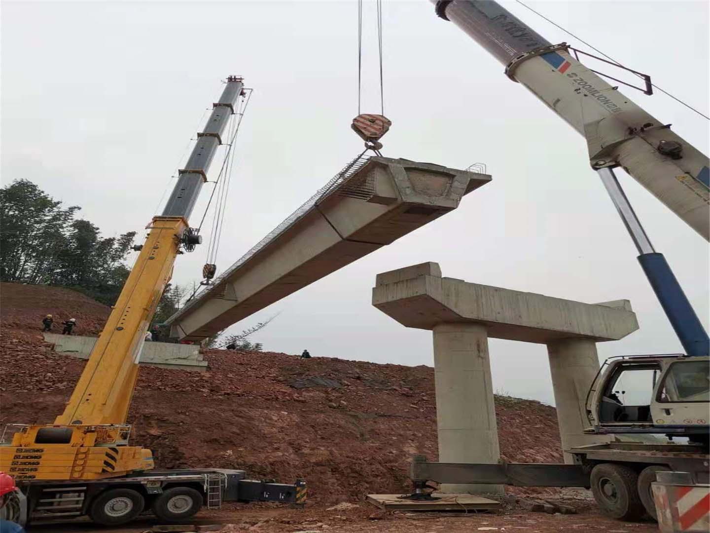 桥板安装成功案例