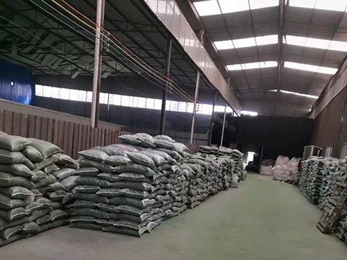 四川TPE填充颗粒批发厂家厂区环境