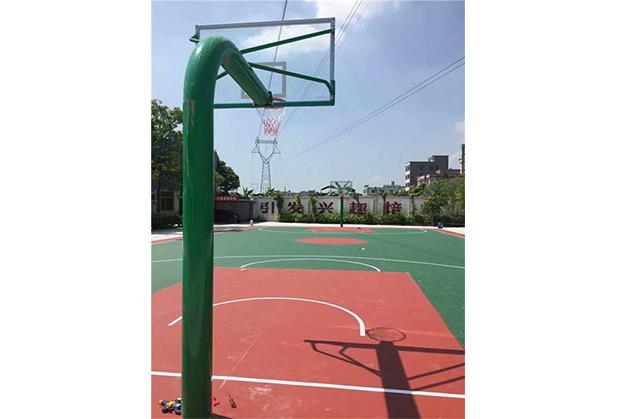成都硅PU篮球场材料