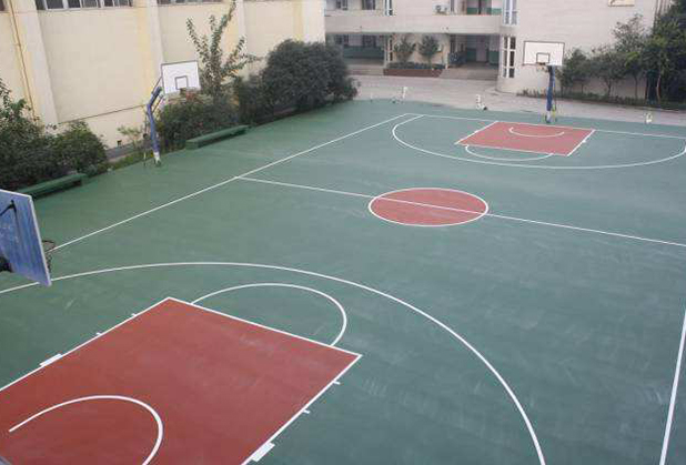 成都学校体育场塑胶跑道