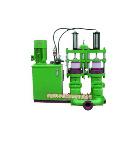 压滤机专用入料泵的安装及使用说明