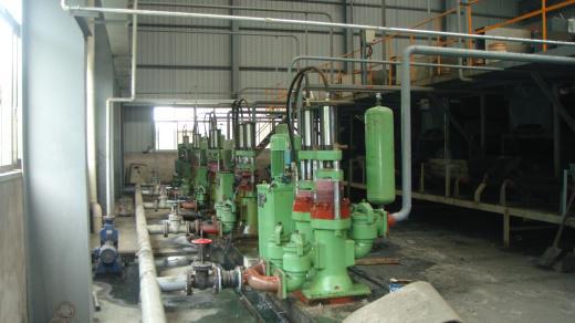 绍兴大型纺织染料公司污水处理现场咸阳教学与科研设备研发