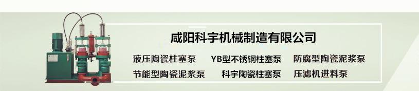 YB节能型陶瓷柱塞泵