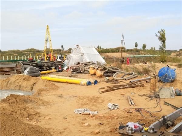 榆林市榆阳区榆卜界煤矿透水抢险堵水治理工程