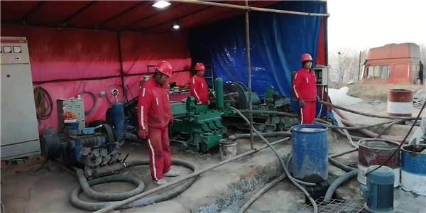 介休左则沟煤矿2209顺槽突水注浆封堵工程