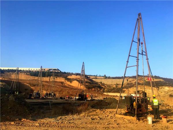 太原天龙山区域防火旅游隧道采空区治理钻孔注浆工程
