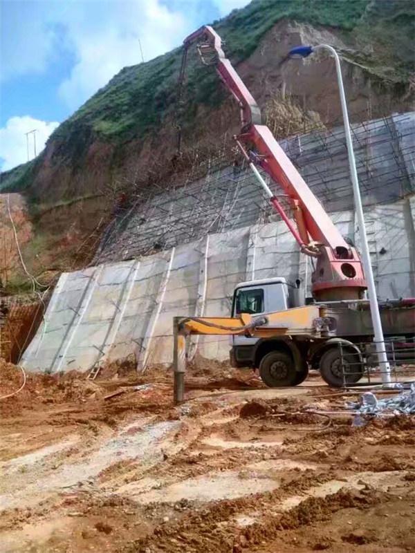 山西兴县肖家洼煤矿D11段边坡治理工程