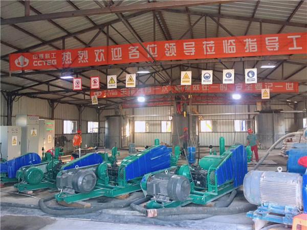 山西晋煤集团寺河二矿污水处理厂基础采空区治理工程