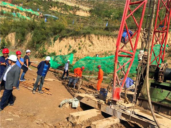 彬县胡家河煤矿老窑水区底板加固注浆工程