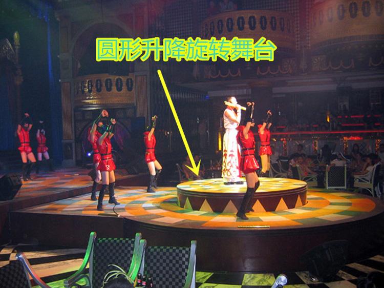 圆形升降旋转舞台