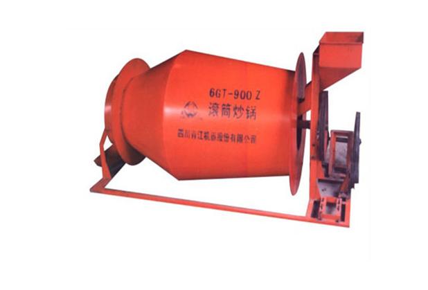 (3)四川中轴滚筒式炒锅