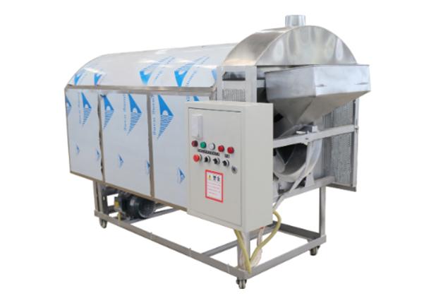 (1)四川新型电炒锅-半轴滚筒式炒锅