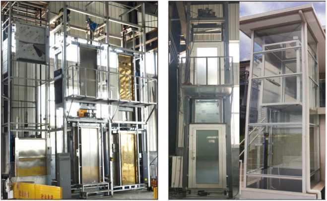 河南别墅电梯安装案例