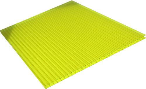 黄色晶亮板