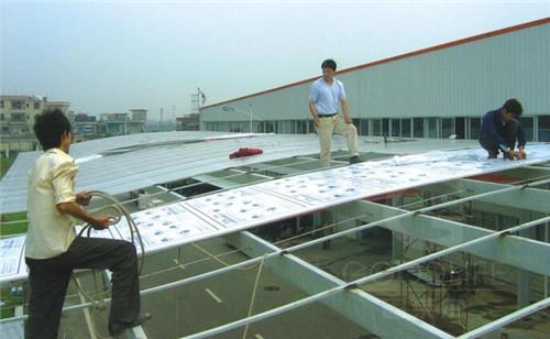 广东美的电器集团走廊工程示例图