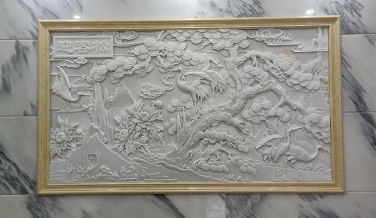 四川汉白玉浮雕制作成功案例