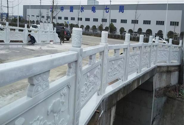 四川汉白玉桥梁栏杆