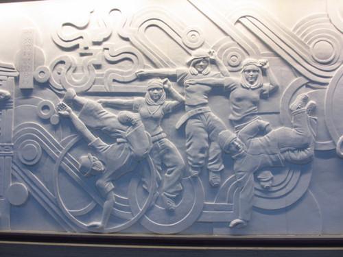 四川汉白玉浮雕的雕刻机巧