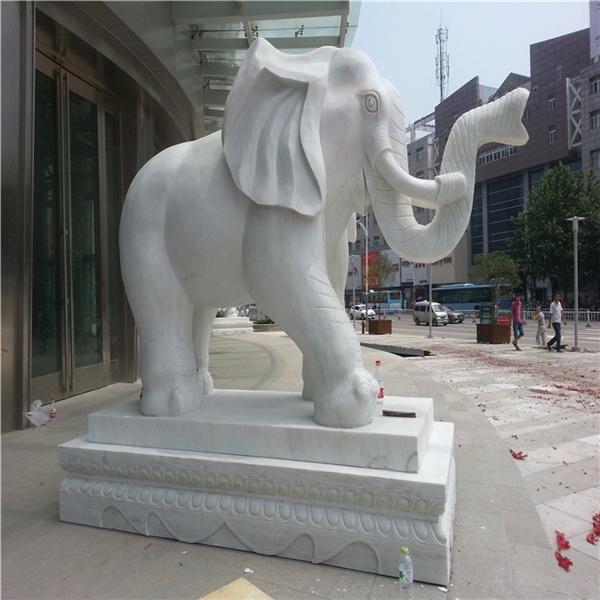 汉白玉大象