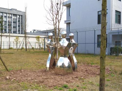 四川不锈钢雕塑设计制作成功案例
