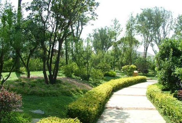 成都园林绿化工程施工成功案例