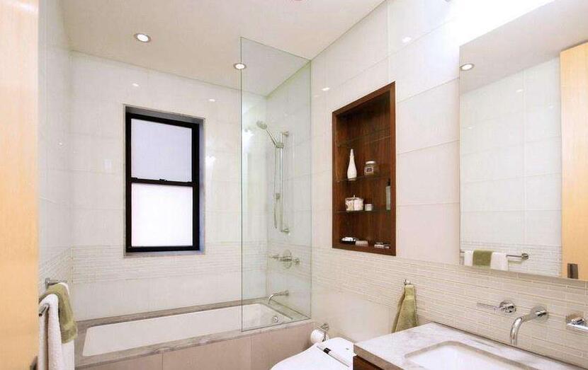 卫生间玻璃隔断墙的小窍门