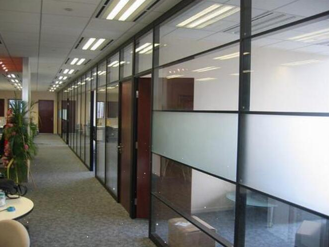 玻璃隔断的三个典型用途