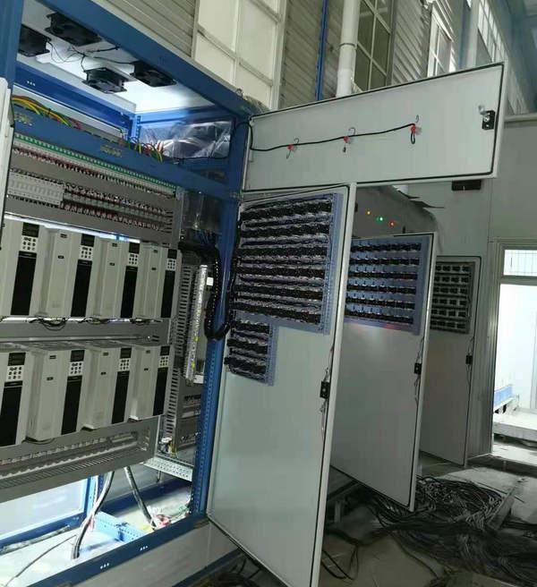 河南某厂家环保项目控制安装调试案例