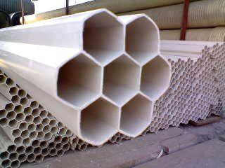 pvc-u埋地通讯用硬聚氯乙烯多孔一体管