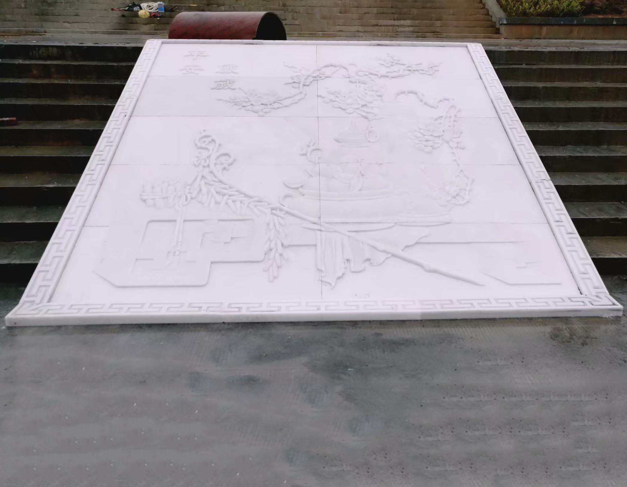 四川汉白玉厂家-室外浮雕